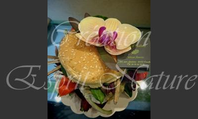 Le «flowerburger»
